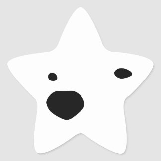 Snowmo Star Sticker
