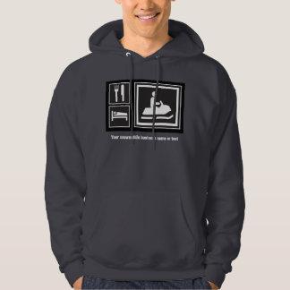 Snowmobile Fanatic - Eat, sleep, go snowmobiling! Hoodie
