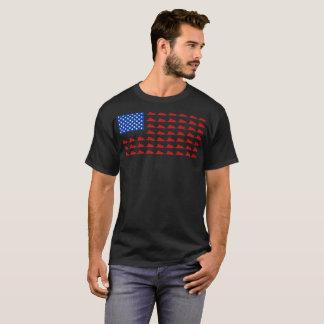 Snowmobile Flag Tshirt