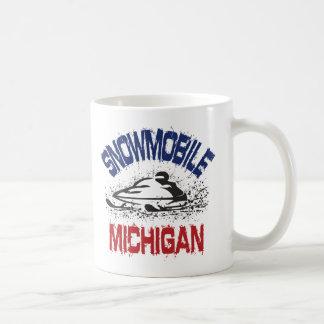 Snowmobile Michigan Mugs