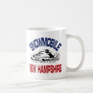Snowmobile New Hampshire Coffee Mugs