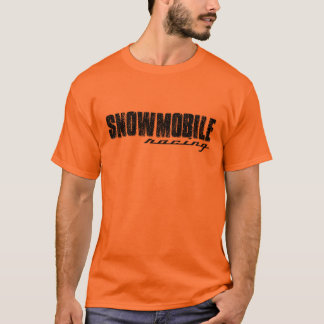Snowmobile Racing T-shirt