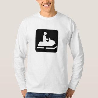 Snowmobile Sign T-Shirt