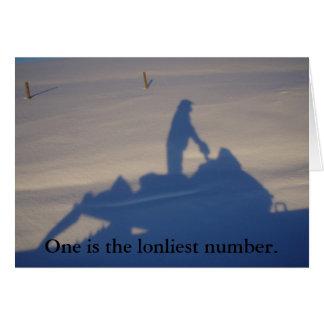 Snowmobiler Card