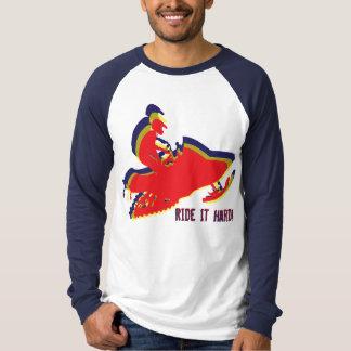 Snowmobiler/ Ride it Hard! T-Shirt