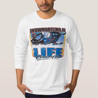 SNOWMOBILING-IS-LIFE-zazz T-Shirt