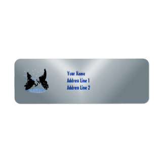 Snowmobiling - Snowmobilers Return Address  Label Return Address Label