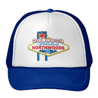 Snowmobiling/Welcome to the Northwoods Cap