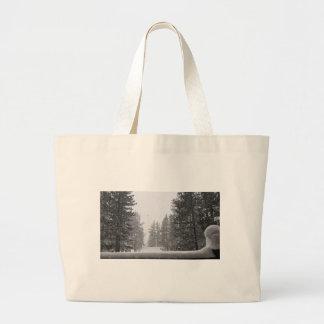 snows large tote bag