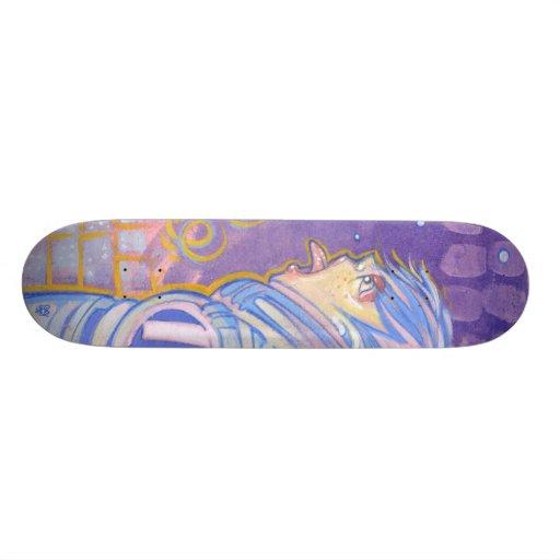 """Snowshine"" Skate Deck"