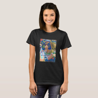 Snowshoe NO CRAFTING ALLOWED Kitty T-Shirt