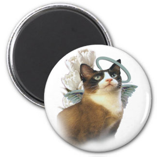 Snowshoe Perfect Angel Magnet
