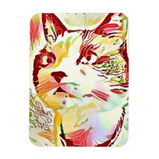 snowshoe shades of fall kitty magnet