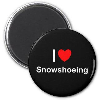 Snowshoeing Magnet