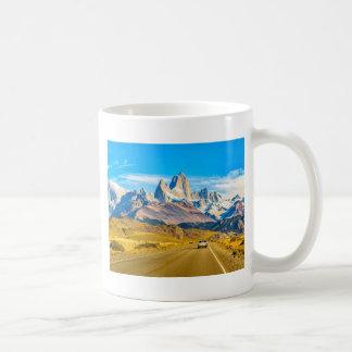 Snowy Andes Mountains, El Chalten, Argentina Coffee Mug