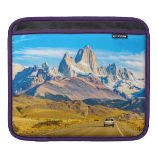 Snowy Andes Mountains, El Chalten, Argentina iPad Sleeve