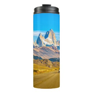 Snowy Andes Mountains, El Chalten, Argentina Thermal Tumbler