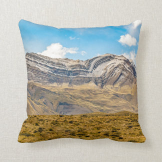 Snowy Andes Mountains Patagonia Argentina Cushion