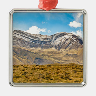 Snowy Andes Mountains Patagonia Argentina Metal Ornament