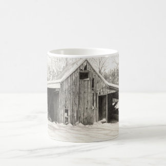 Snowy Barn Coffee Mug