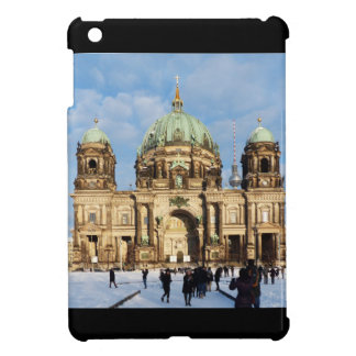 Snowy Berlin Cathedral 001.02.2 iPad Mini Covers