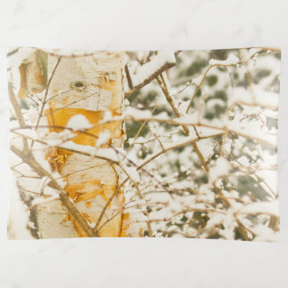 Snowy Birch Trinket Trays