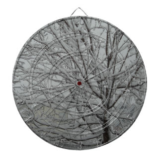 Snowy branches dartboards