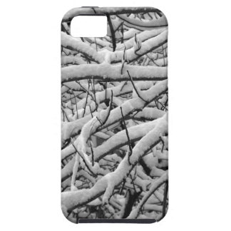 Snowy branches tough iPhone 5 case