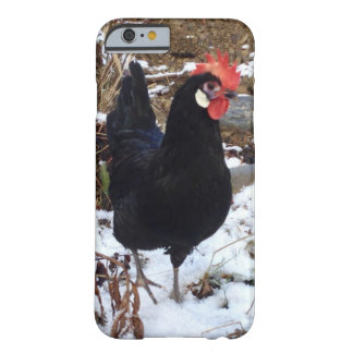Snowy chicken phone case