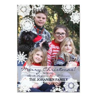Snowy Christmas Holiday Card