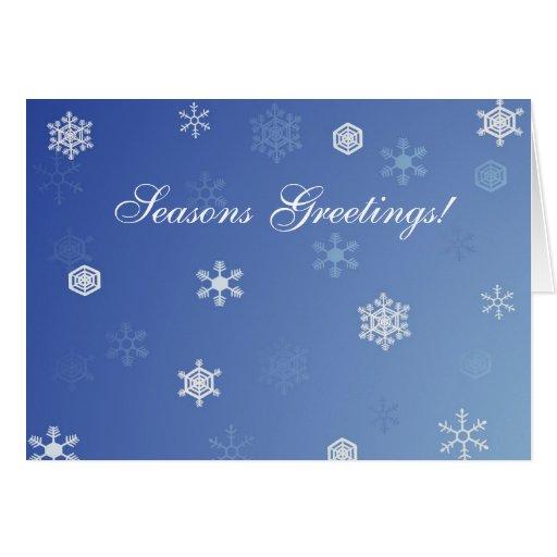 Snowy Day Christmas Card