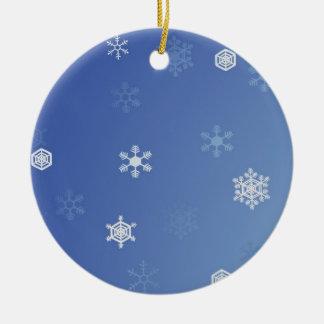 Snowy Day Christmas Ornament