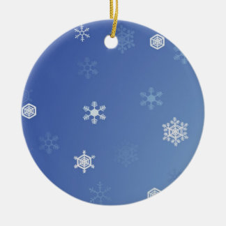 Snowy Day Christmas Ornament
