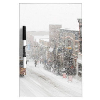 snowy day dry erase whiteboard