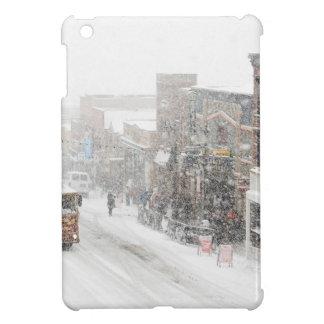 snowy day iPad mini covers