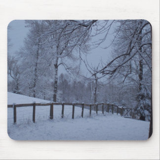Snowy Day Mouse Pad