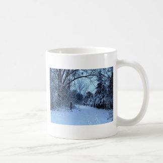 Snowy Day. Coffee Mug