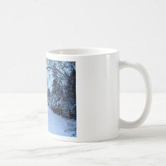 Snowy Day. Mugs