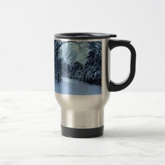 Snowy Day. Mug