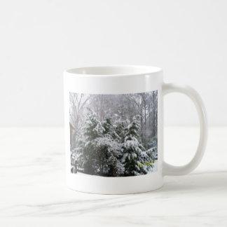 snowy day coffee mugs