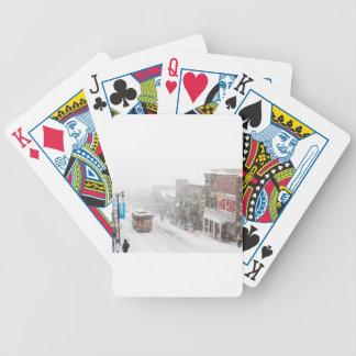 snowy day poker deck