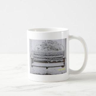 snowy day swing coffee mug