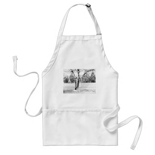 Snowy Day with Trees Aprons