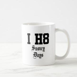 snowy days mug
