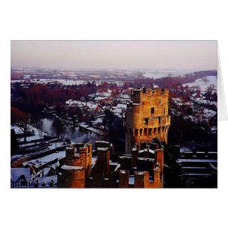 Snowy England Greeting Card