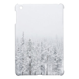 Snowy forest case for the iPad mini