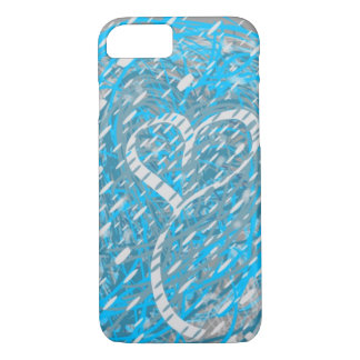 Snowy Heart Phone Case