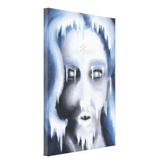 Snowy Kisses Canvas XS Canvas Print