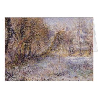 Snowy Landscape Card