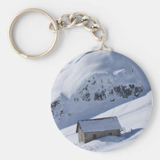 snowy landscape keychains